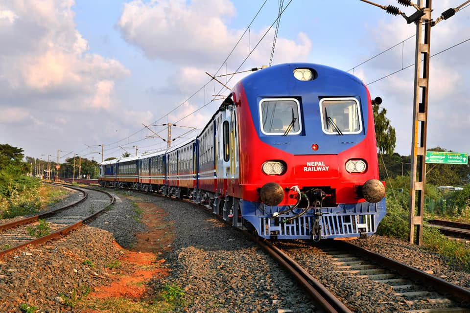 Nepal Railways reach Jayanagar (Photo Feature)