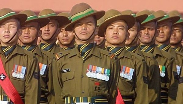 Indian  Army recruiting large number of Nepalis in its force