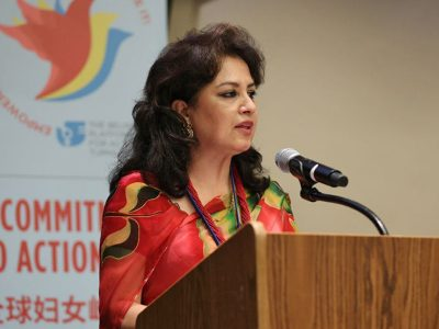 Bandana Rana in the High Level Commission for Women's Rights and Health