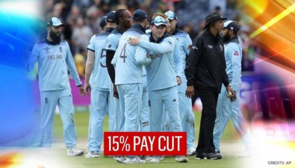 England men's cricket team agree to 15 pc pay cut for one year