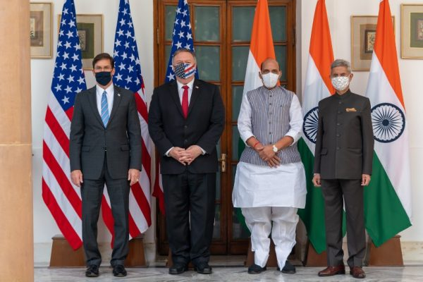 '2+2 Ministerial Dialogue between India and the US successful': Pompeo