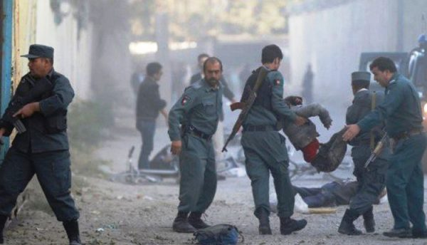 Suicide bomber kills 18, wounds 57 in Kabul