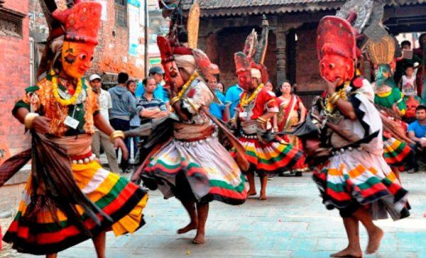 Navadurga's tantric dance commences in Bhaktapur, Kumari's procession called off