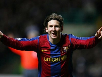 Lionel Messi sets a record in the Champions League