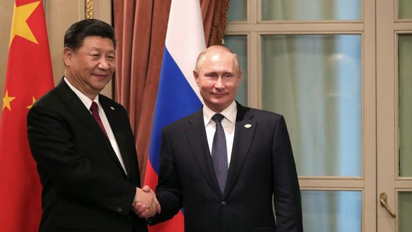 The possibility of a military alliance between Russia and China cannot be ruled out, according to Vladimir Putin