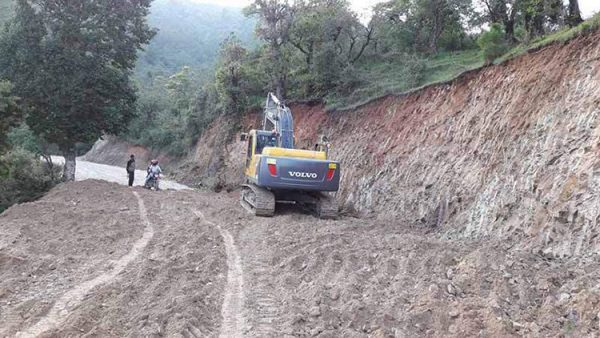 Nepal's roads faces difficulties as India uses explosives for Mansarovar road construction