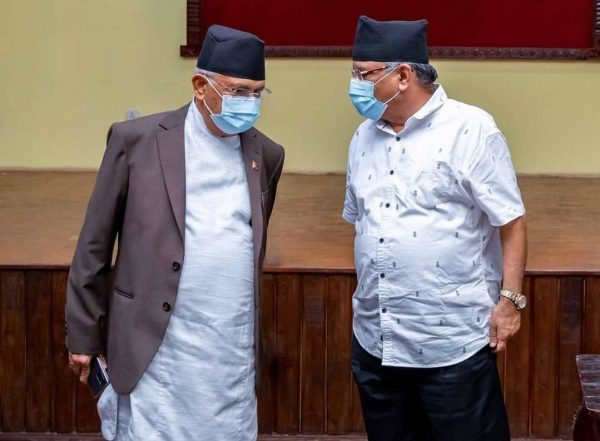 The 'Oli bypass': Prachanda makes move towards taking control over party