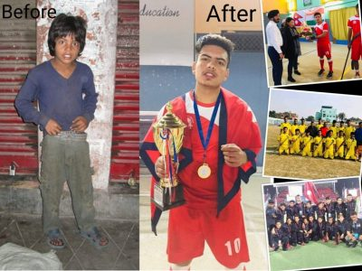 From street kid to ace hockey player