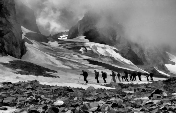 Snowfall leaves 10 tourists including two foreigners trapped at Mera Peak area