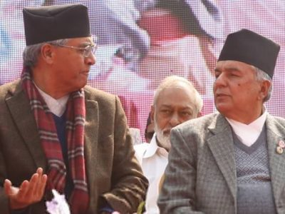 NC dilemma: Deuba focuses on election, Poudel plans counter strategy