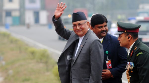 Prime Minister Oli receives Covid vaccine, says 'nothing to fear'