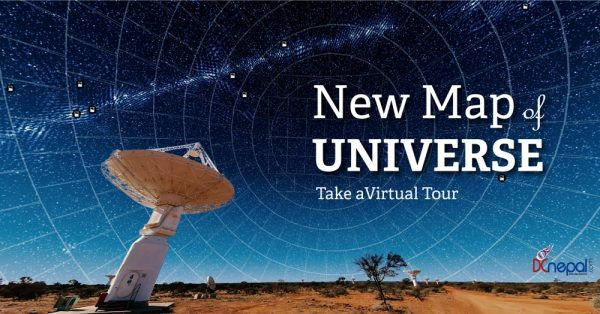 New map of the universe readied for virtual tour