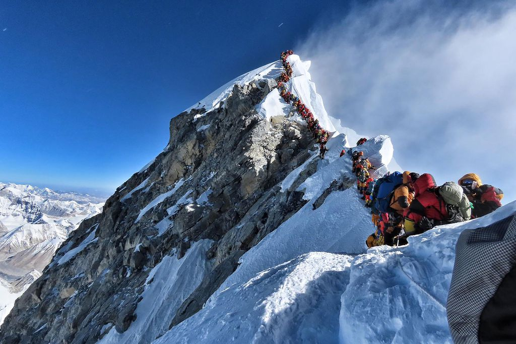 70 climbers scaled Sagarmatha on Wednesday