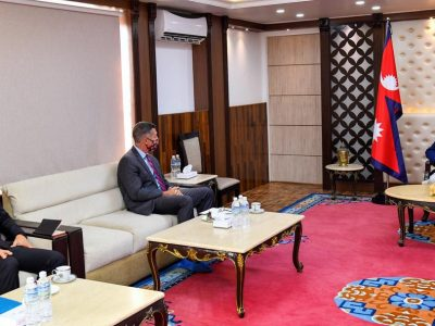 U.S. Ambassador meets PM Oli to discuss Biden's global priorities