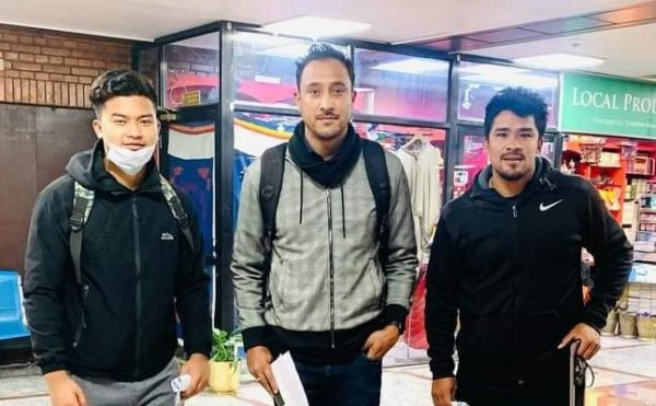 Paras, Karan and Kushal leave for UAE for T-10 league