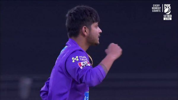 Hobart wins with Sandeep's two wickets