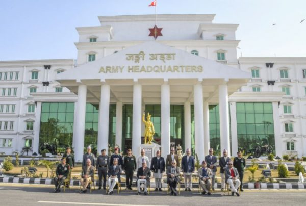 Nation's sovereignty can be secured only when the people are united: Nepali Army