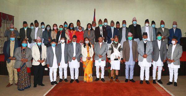 Chiefs of various Constitutional Bodies sworn in