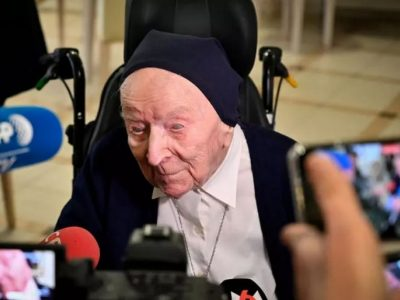 117-year-old French nun survives COVID-19