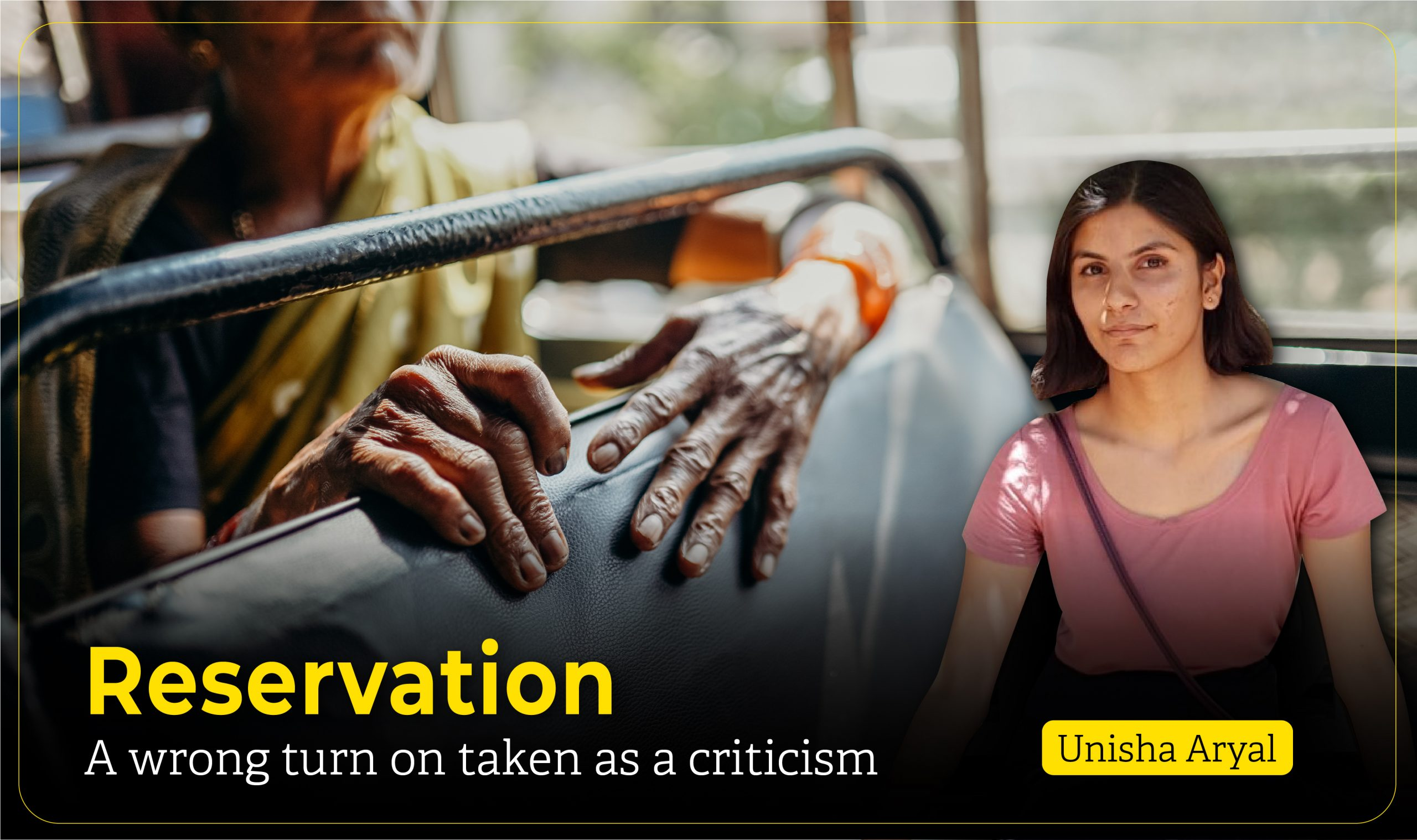 Reservation System in Nepal: A wrong turn on taken as a criticism