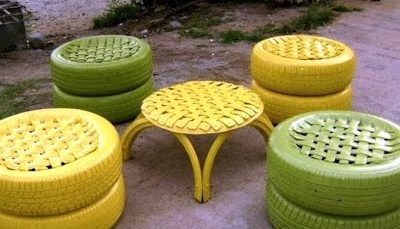 Rwandan business recycles old tyres into household objects