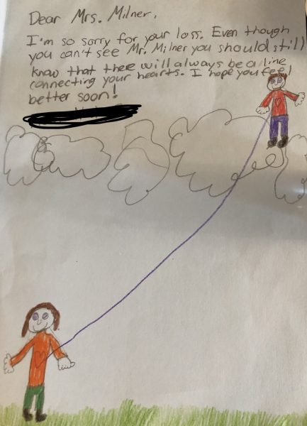 US teacher receives a heartwarming letter from student, who was grieving loss of her husband