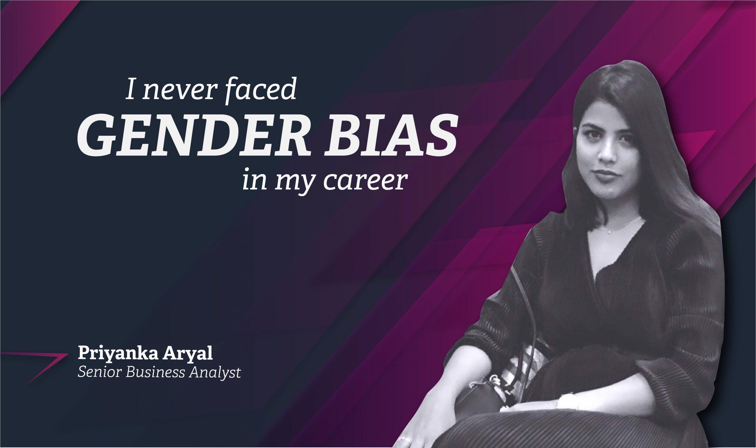 I never faced GENDER BIAS in my career: Priyanka Aryal