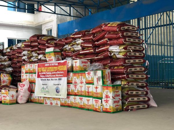 Sherpa Support Foundation provides food supplies to 450 tourism workers