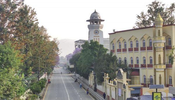Kathmandu during prohibitory period