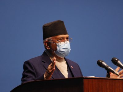 PM Oli's proposal for vote of confidence rejected