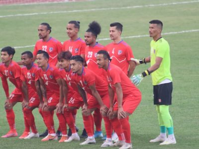 Nepali football team to head for Iraq next week, then head towards selection process for the World Cup