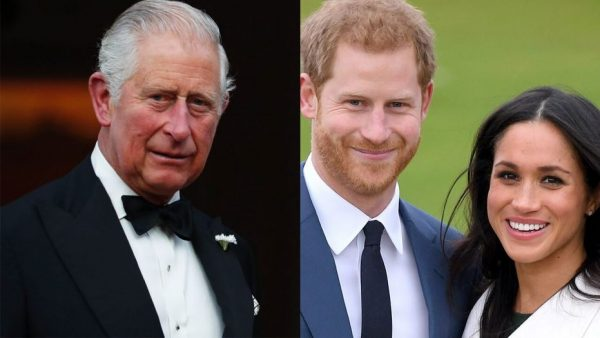 Prince Charles' birthday message to Archie, CROPS OUT Meghan from family photo