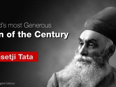 """Jamsetji Tata honored as the """"Philanthropist of the Century"""""""