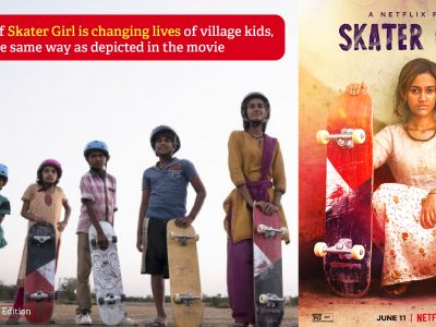 """Rajasthani set of """"Skater Girl"""" is producing National Champions"""