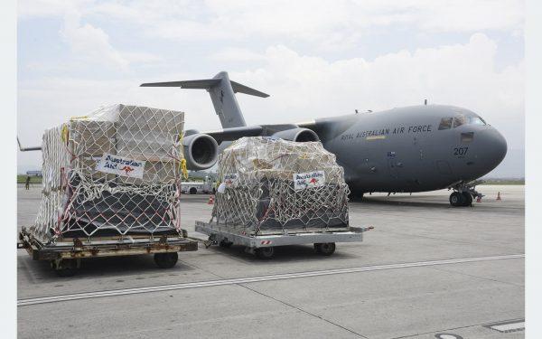 Australian medical support arrives