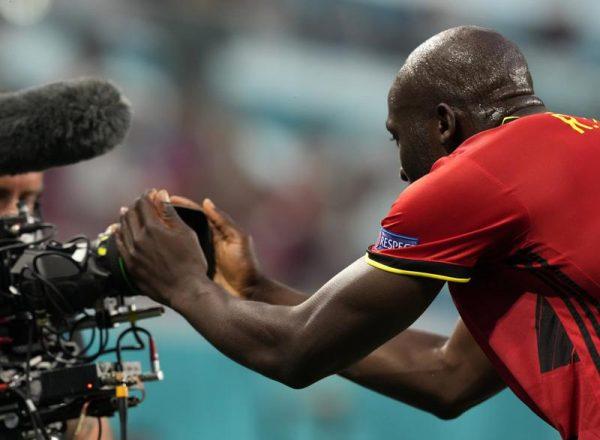 Lukaku sends message to Eriksen as Belgium wins at Euro 2020