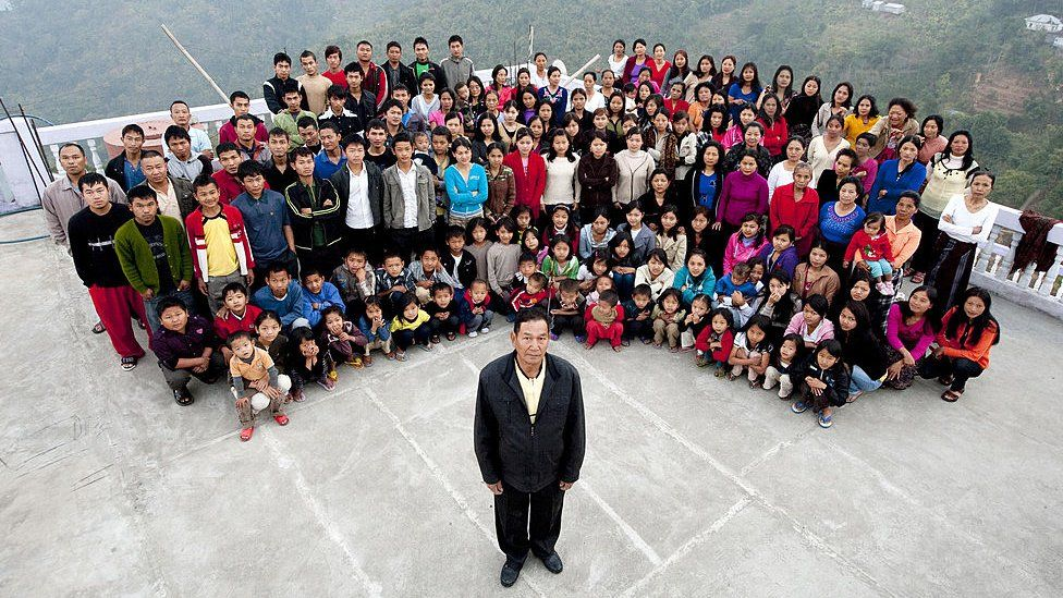 Man with world's largest family from Mizoram dead