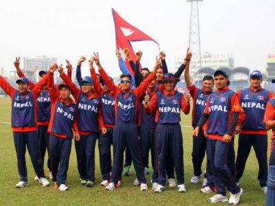 Nepali Cricketers to play on World Cup League