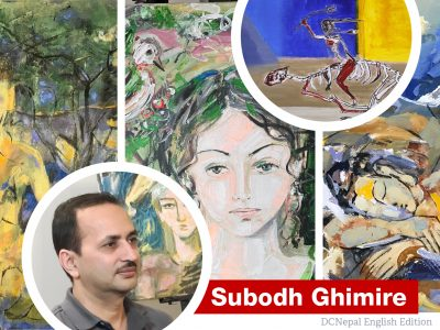Subodh, an influential Nepali artist in the United States