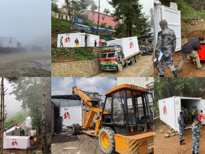 U.S. Indo-Pacific Command provides first Disaster Response System pod to APF Training School in Kurintar