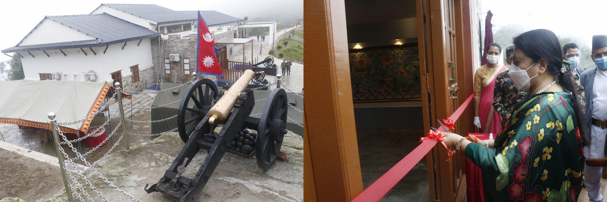 President Bhandari inaugurates Sindhuligadhi War Museum
