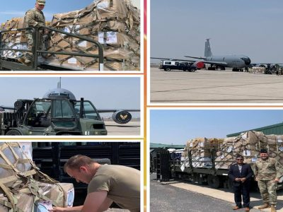 NRNA USA is sending medical supplies worth 4 crore on a US military aircraft