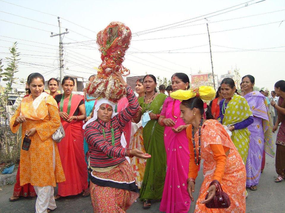 Women in Sudurpaschim celebrate Gaura Parva