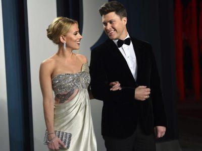 Scarlett Johansson, husband Colin Jost welcome baby boy