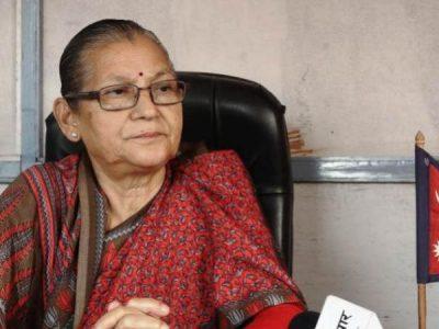 Asta Laxmi Shakya becomes the first woman provincial head