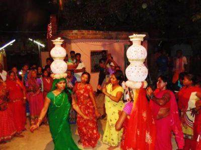 Mithilanchal alive with Jhijhiya dance during Dashain
