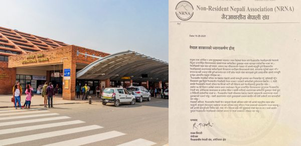 """NRNA demands immediate investigation into """"harassment"""" faced by Nepalis at Tribhuvan Airport"""
