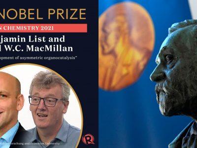 Nobel Prize in Chemistry awarded to Benjamin and MacMillan