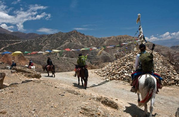 """Beni overcrowded as tourists rush to """"Mustang"""" after Dashain"""